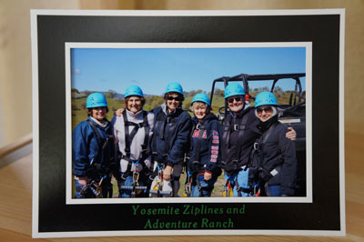 Purchase a framed photo package to remember your zipline experience!